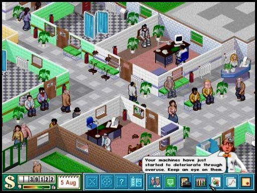 Theme Hospital ENG (PSX)